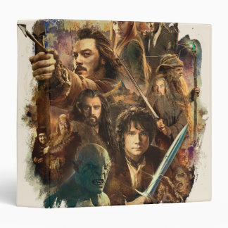 Desolation of Smaug Characters Binder