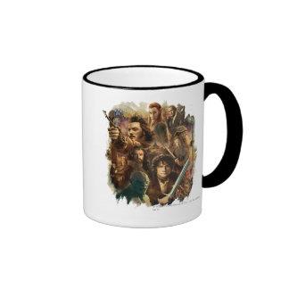 Desolation of Smaug Characters Ringer Mug