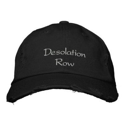 Desolation Row Cap / Hat