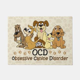 Desorden canino obsesivo de OCD Felpudo