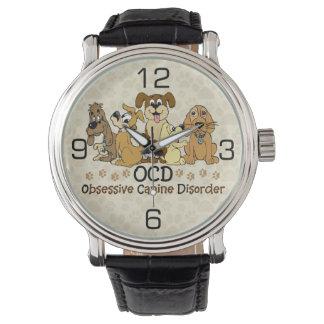 Desorden canino obsesivo de OCD Relojes De Mano