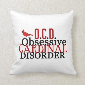 Desorden cardinal obsesivo almohada