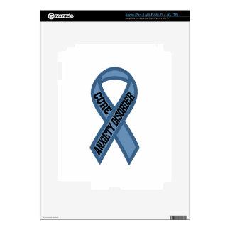 Desorden de ansiedad de la curación iPad 3 pegatinas skins