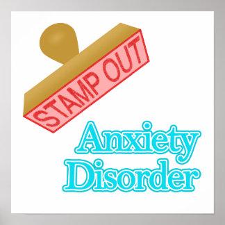 Desorden de ansiedad póster