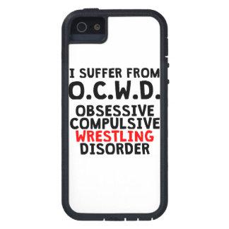 Desorden de lucha obsesivo iPhone 5 protectores