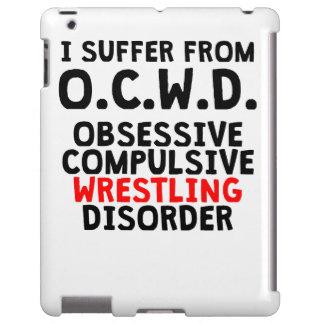 Desorden de lucha obsesivo funda para iPad
