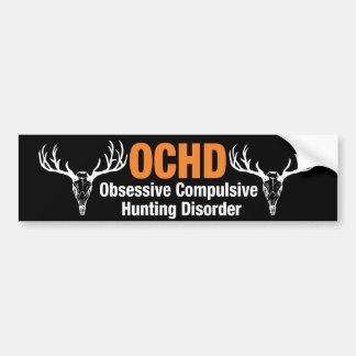 Desorden obsesivo de la caza de OCHD Pegatina Para Auto