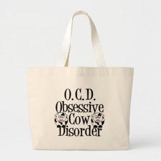 Desorden obsesivo de la vaca bolsas de mano