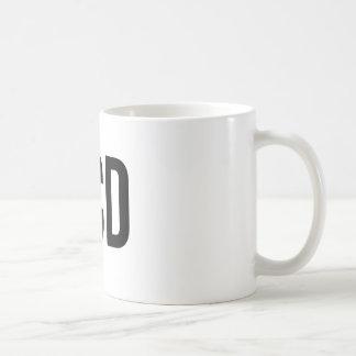 Desorden obsesivo de OCD Taza De Café