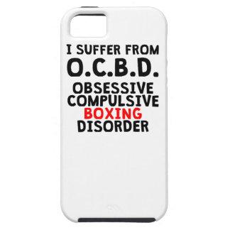 Desorden obsesivo del boxeo iPhone 5 Case-Mate cobertura