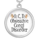 Desorden obsesivo del Corgi Collares Personalizados