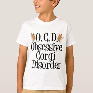 Desorden obsesivo del Corgi Remeras