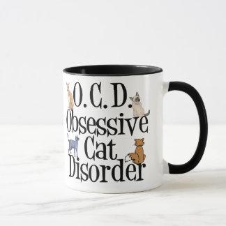 Desorden obsesivo del gato