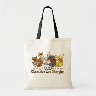 Desorden obsesivo del gato de OCD Bolsa Tela Barata