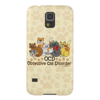 Desorden obsesivo del gato de OCD Carcasas De Galaxy S5