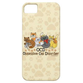 Desorden obsesivo del gato de OCD iPhone 5 Carcasas