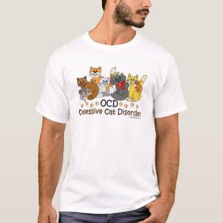 Desorden obsesivo del gato de OCD Playera