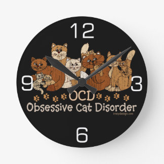 Desorden obsesivo del gato de OCD Relojes