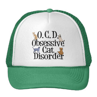 Desorden obsesivo del gato gorros