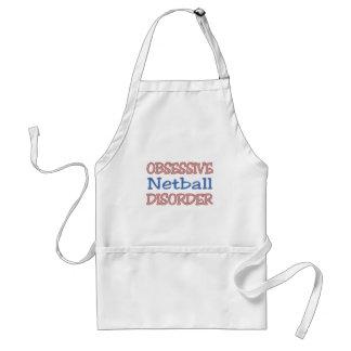 Desorden obsesivo del Netball Delantal