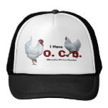 Desorden obsesivo del pollo: Razas mezcladas Gorros Bordados