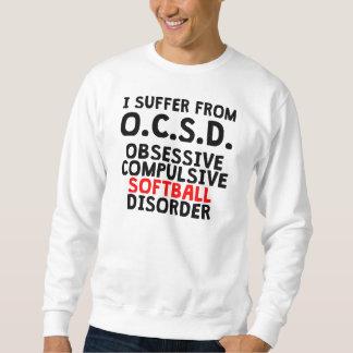 Desorden obsesivo del softball pulover sudadera