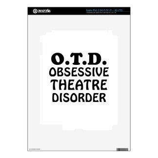 Desorden obsesivo del teatro de OTD Pegatina Skin Para iPad 3