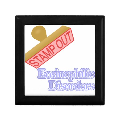Desordenes eosinófilos joyero cuadrado pequeño