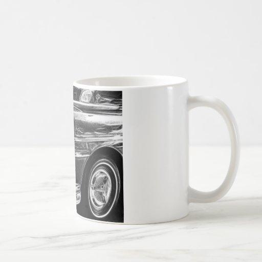DeSoto Frack and White Coffee Mug