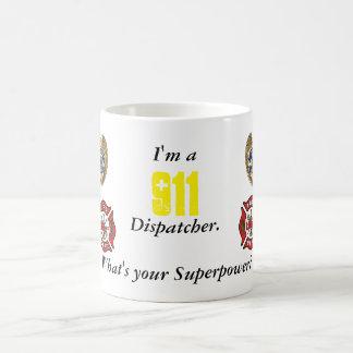 Despachador 911 taza clásica