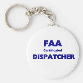 Despachador certificado FAA Llaveros