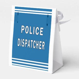 Despachador de la policía caja para regalos