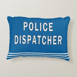 Despachador de la policía cojín