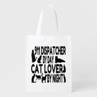 Despachador del amante 911 del gato bolsa para la compra