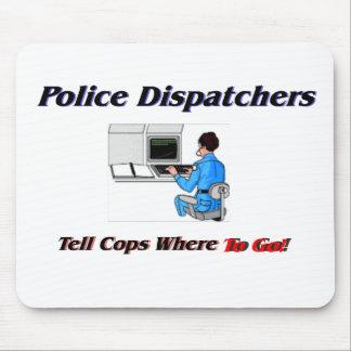 Despachadores de la policía tapete de raton
