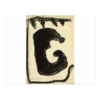 Despair by Theo van Doesburg Postcard