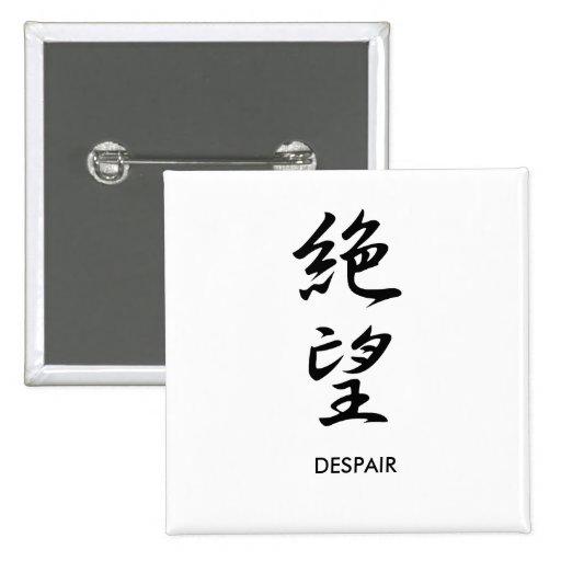 Despair - Zetsubou Pins