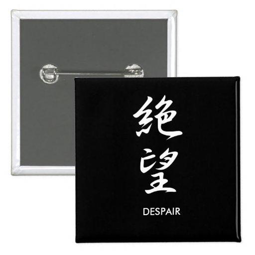 Despair - Zetsubou Pinback Button