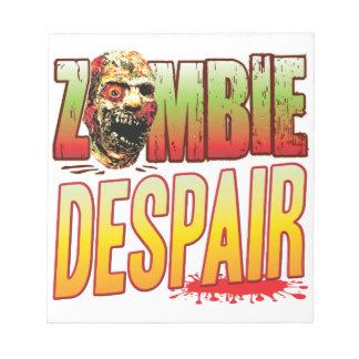 Despair Zombie Head Memo Note Pads