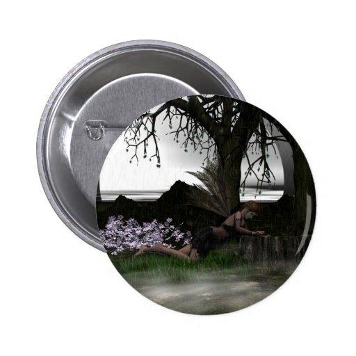 Despaired Pinback Button