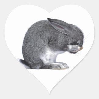 Despairing Rabbit Sticker