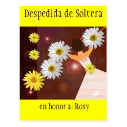 Despedida de Soltera Postcard