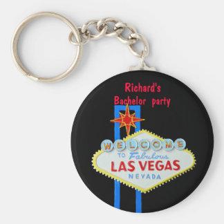 Despedida de soltero de Las Vegas Llaveros Personalizados