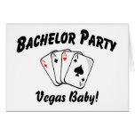 Despedida de soltero de Vegas Felicitación