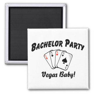 Despedida de soltero de Vegas Imán Cuadrado