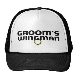 Despedida de soltero del Wingman de los novios Gorro De Camionero