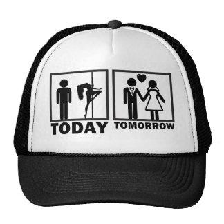 Despedida de soltero divertida gorras de camionero