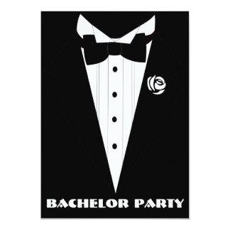 despedida de soltero, ducha del novio, fiesta de invitación 12,7 x 17,8 cm