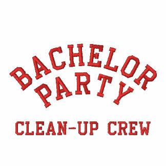 Despedida de soltero, equipo de limpieza camiseta polo