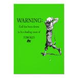 despedida de soltero golfing anuncios personalizados